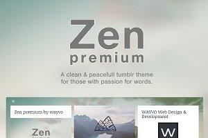 Zen Premium Tumblr Theme