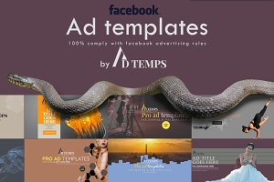 Facebook Ad Template Pack 01