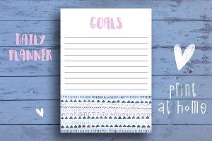 Cute Goal Planner