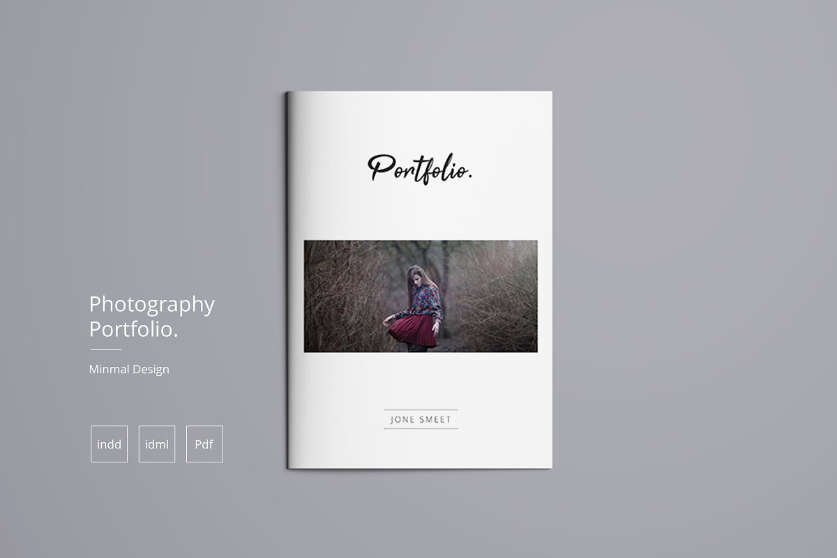 Photography Portfolio ~ Brochure Templates ~ Creative Market