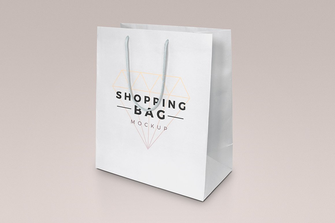 144c092ab65d Shopping Bag Mockup ~ Product Mockups ~ Creative Market