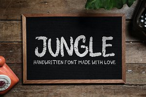 Jungle Handwritten font