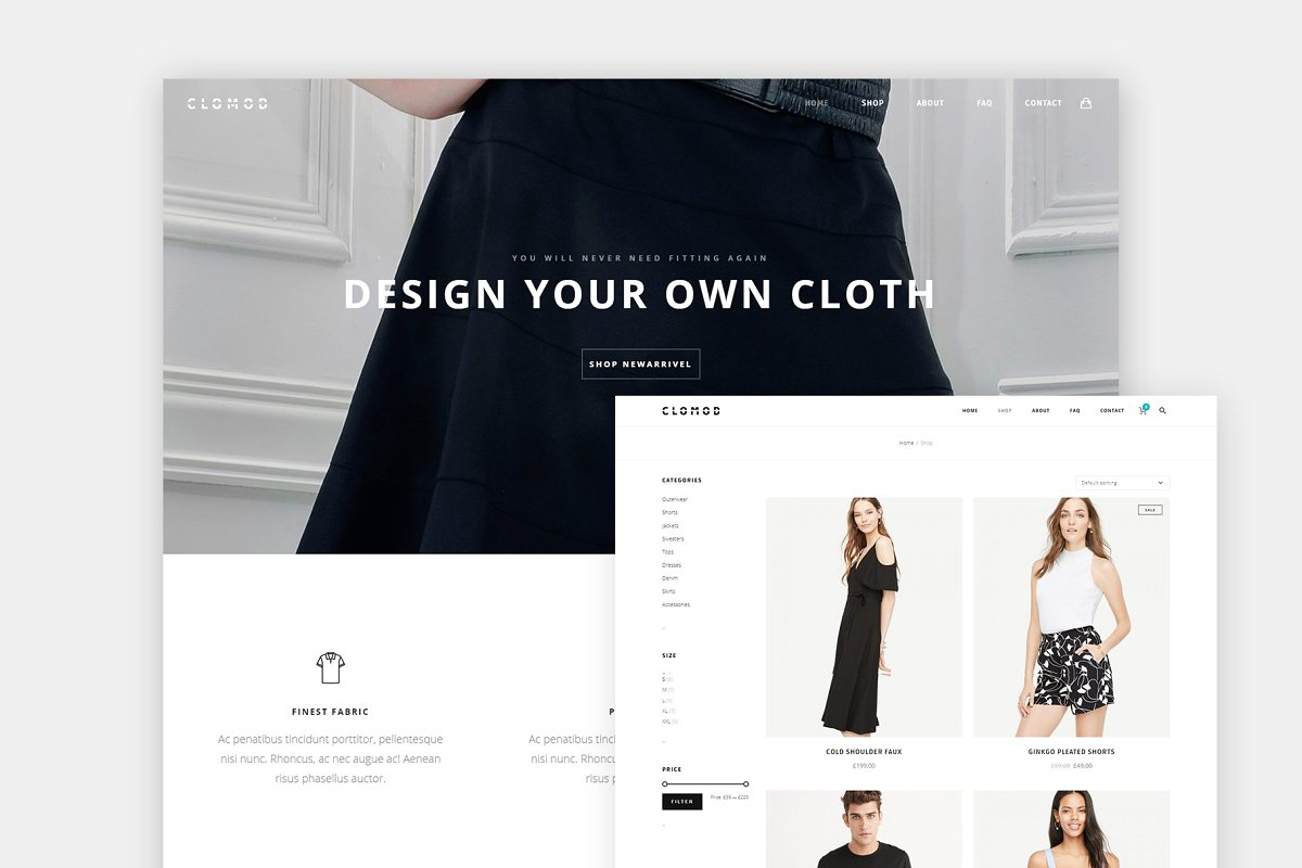 20+ Best Clothes Store WordPress Themes & Templates 2019 [ Download Now ]