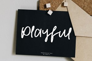 Playful | Handlettered Font
