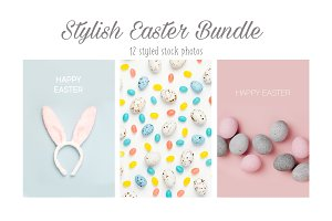 Easter Bundle in pastel colored