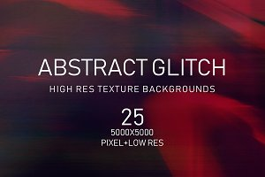 Abstract Glitch Texture Collection