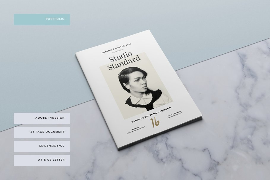 Studio Lookbook ~ Brochure Templates ~ Creative Market