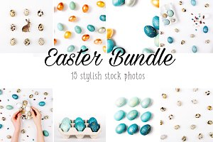Easter Bundle in blue colored