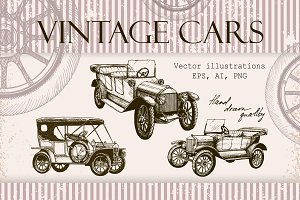Vantage Cars illustrations