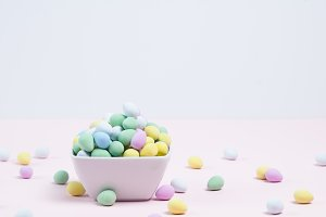 Colorful Candy Eggs