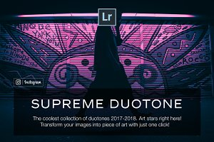 100+ Duotone Lightroom Presets