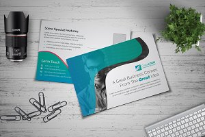 Clean Postcard Template