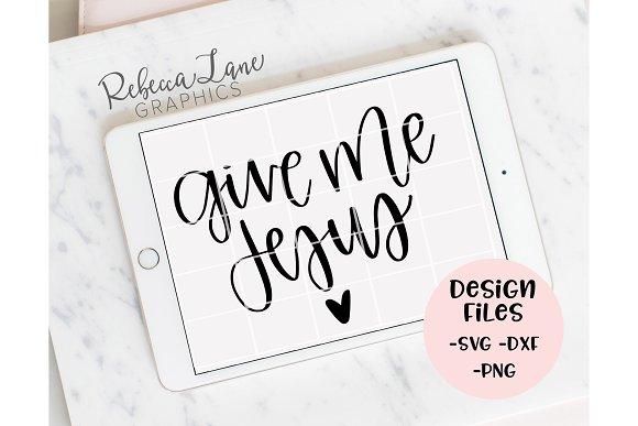 Give Me Jesus Design