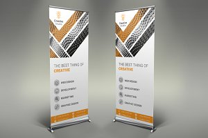 Creative Company Roll Up Banner #093
