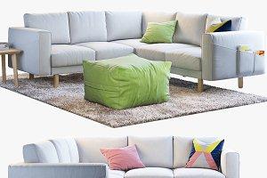 Ikea Norsborg corner sofa