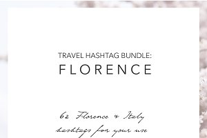 Florence Italy Instagram Hashtags