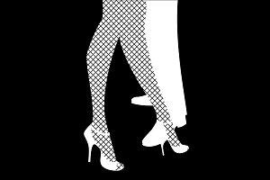 Dancing Tango Shoes