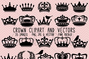 Crown Clipart and Vectors