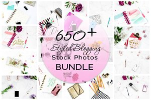 650+ Styled Blogging Stock Photos
