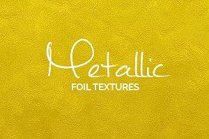 Metallic foil textures