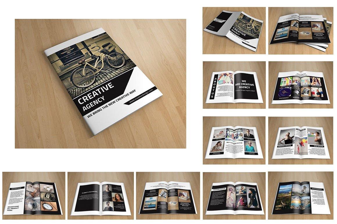 creative brochure templates - creative brochure v96 brochure templates creative market