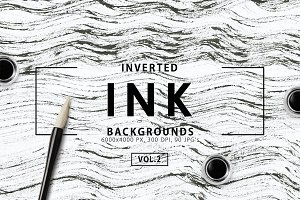 Inverted Black Ink Backgrounds 2