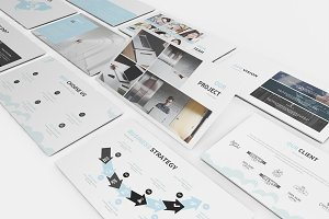 Hosting & SEO Google Slides Template