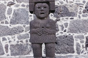 Prehispanic Sculptures, Mexico