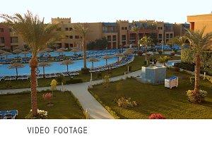 Exotic resort