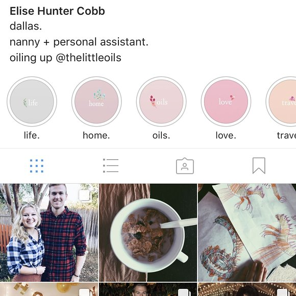Instagram Story Highlights Pack in Icons