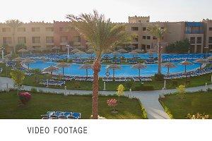 Scene of summer resort