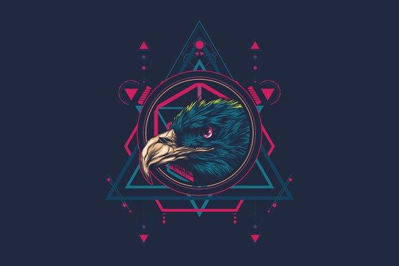 The Eagle - sacred geometry
