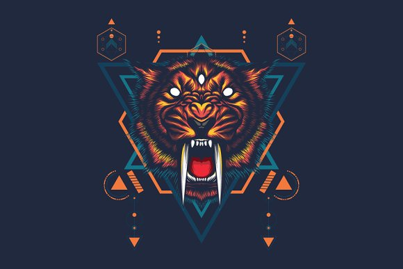 The Saber-tooth Sacred Geometry