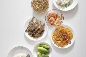 food for good health with Thai local