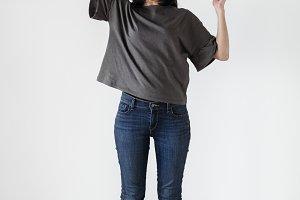 Asian ethnicity woman portrait shoot