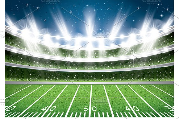 american football stadium arena illustrations creative market