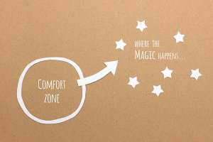 Comfort zone and where the magic...