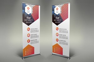 Business Roll Up Banner # 111