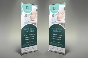 Corporate Roll Up Banner #100