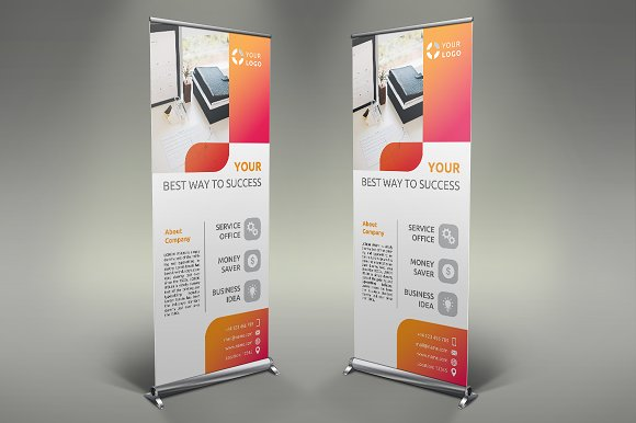 Business Roll Up Banner #102