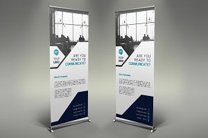 Communication Roll Up Banner