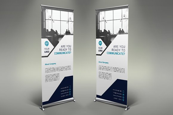 Communication Roll Up Banner #107