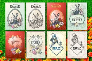Easter and Passover postcards