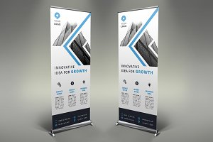 Business Roll Up Banner - #110