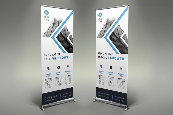 Business Roll Up Banner #110