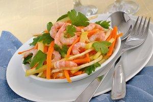 Salad of celery