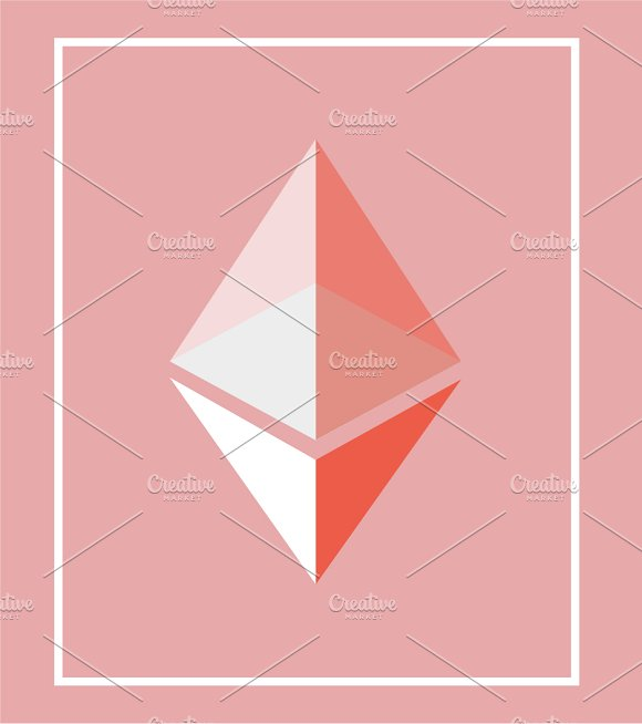 Ethereum Bitcoin Icon Set