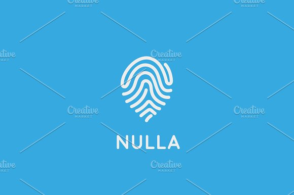 Abstract Pin Logo Design Location Creative Symbol Universal Vector Icon Navigation Map Sign