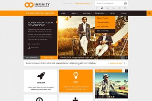 INFINITY | WordPress Theme
