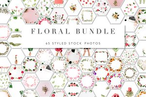 90% OFF! Floral Bundle